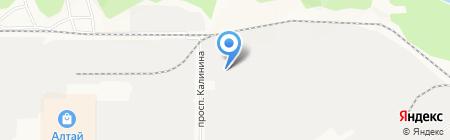Аргус на карте Барнаула