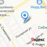 Детский сад №94 на карте Барнаула