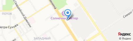 Агентство горящих путевок на карте Барнаула
