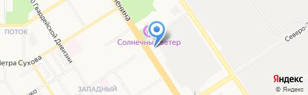 АлтайСпецТехно на карте Барнаула