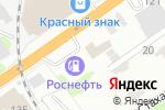 Схема проезда до компании Колесо в Барнауле