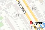 Схема проезда до компании Трэк в Барнауле
