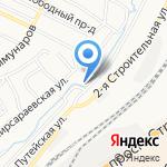Производственная компания на карте Барнаула