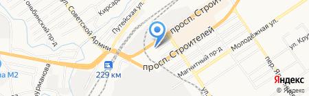 ЭстетАвто на карте Барнаула