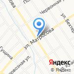 Иван-Мастер на карте Барнаула