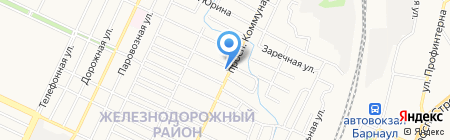 МариШен на карте Барнаула