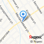 Тамара на карте Барнаула