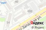 Схема проезда до компании Какао в Барнауле