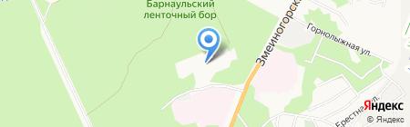 ЛюМар на карте Барнаула