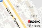 Схема проезда до компании А-СпецСтройМонтаж в Барнауле