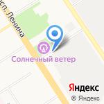 АлтайМагнит на карте Барнаула