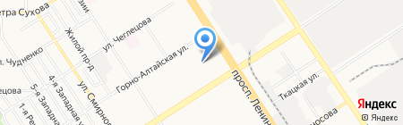 Детский сад №249 на карте Барнаула