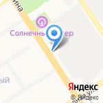 Корпус на карте Барнаула