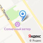 САПИР на карте Барнаула