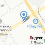 Мой ангел на карте Барнаула