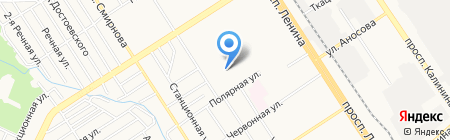 Строй-Монтаж-Сервис на карте Барнаула