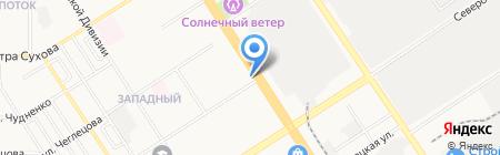 Вера на карте Барнаула