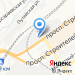 LAZURIT на карте Барнаула