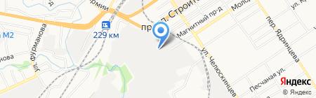 Алтаймолпром на карте Барнаула