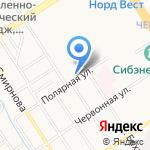 Весна на карте Барнаула