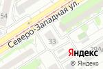 Схема проезда до компании Мой ангел в Барнауле
