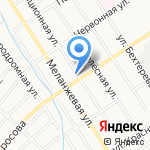 Автостар на карте Барнаула