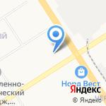 Техномакс на карте Барнаула