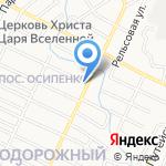 Мир праздника на карте Барнаула