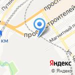 Акватория на карте Барнаула