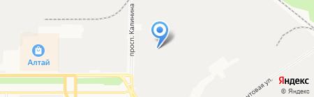 Ливит на карте Барнаула