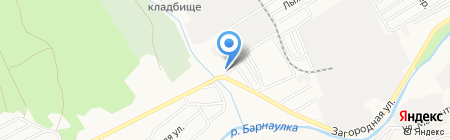 АвтоСмайл на карте Барнаула