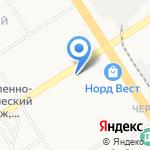 Секонд-хэнд на карте Барнаула