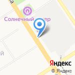 Сибит на карте Барнаула