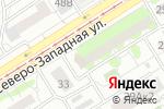 Схема проезда до компании Практик-Сервис в Барнауле