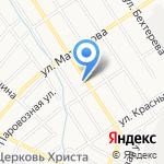 К-СЕРВИС на карте Барнаула