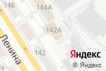 Схема проезда до компании Русь в Барнауле