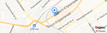 Гвоздилка Плюс на карте Барнаула