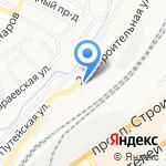 Алтайские кузнечные мастерские на карте Барнаула