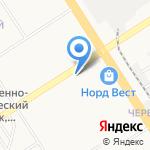 Нотик на карте Барнаула