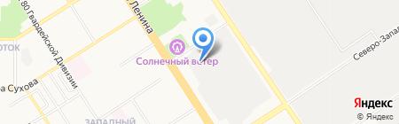 А-РЕКЛАМА на карте Барнаула