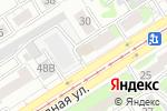Схема проезда до компании Альфа-Мебель в Барнауле