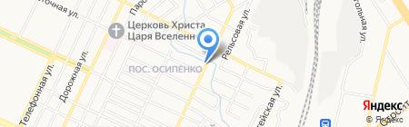 Казачья лавка на карте Барнаула