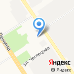 Женский фитнес-центр на карте Барнаула