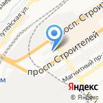 Соцветие на карте Барнаула