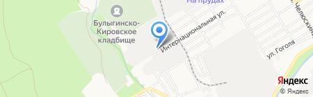 Гауди на карте Барнаула