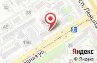 Схема проезда до компании Печатный мир в Барнауле