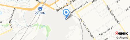 Пищевые технологии на карте Барнаула
