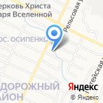 АвтоПрофи на карте Барнаула