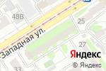 Схема проезда до компании Saxaр в Барнауле