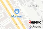 Схема проезда до компании Интим в Барнауле
